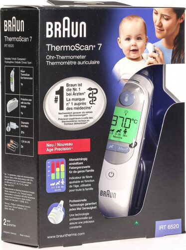Braun ThermoScan 7 IRT 6520 #2