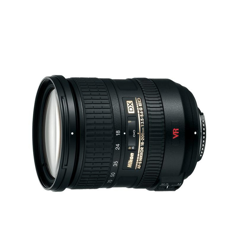 Nikon AF-S DX VR Zoom-NIKKOR 18-200mm f/3.5-5.6G IF-ED - 1