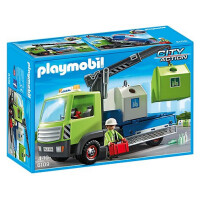 Playmobil City Action Glass Sorting Truck 6109